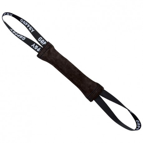 Leather tug 3x25 cm, 2 handles