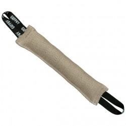 Stitched tug, jute, 9x50 cm, 2 handles