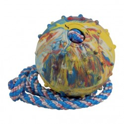 Ball, 6 cm, with 100 cm string
