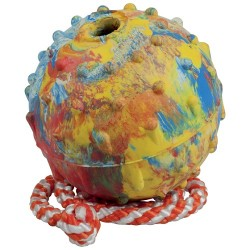 Ball, 7 cm, with 100 cm string