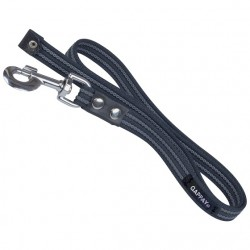 Rubberised leash 20mm, length 100 cm