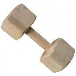 Wooden dumbbell 2 kg, IPG 3
