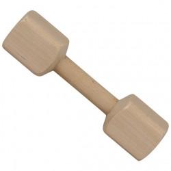 Wooden dumbbell 0.25 kg