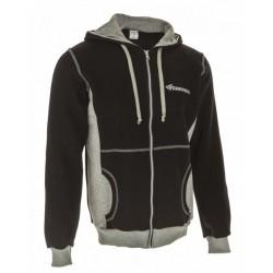 RELAX zipped sweatshirt, ladies